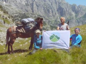 Clients in Peaks of the Balkans trail