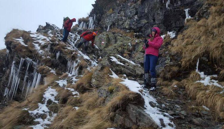 Balkan Natural Adventure clients in Gjeravica