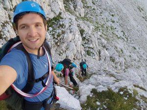 Adriatik climbing with friends