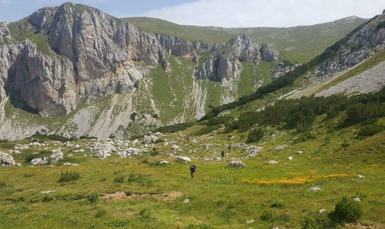 Open valley Via Dinarica Kosovo