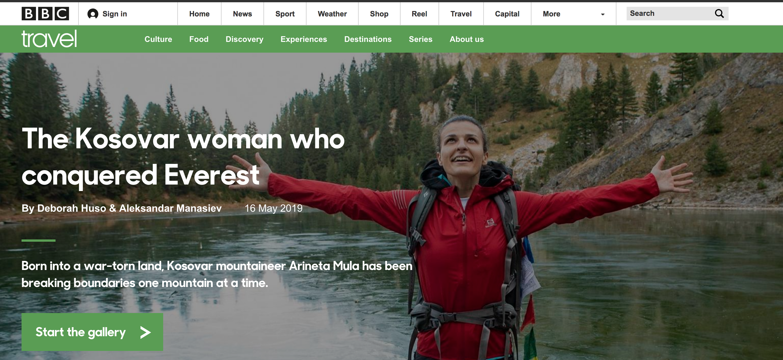 Arineta Mula in BBC