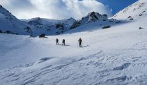 Ski tour in Sharr mountains