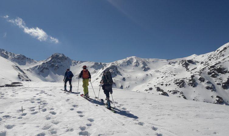 Ski touring Balkans