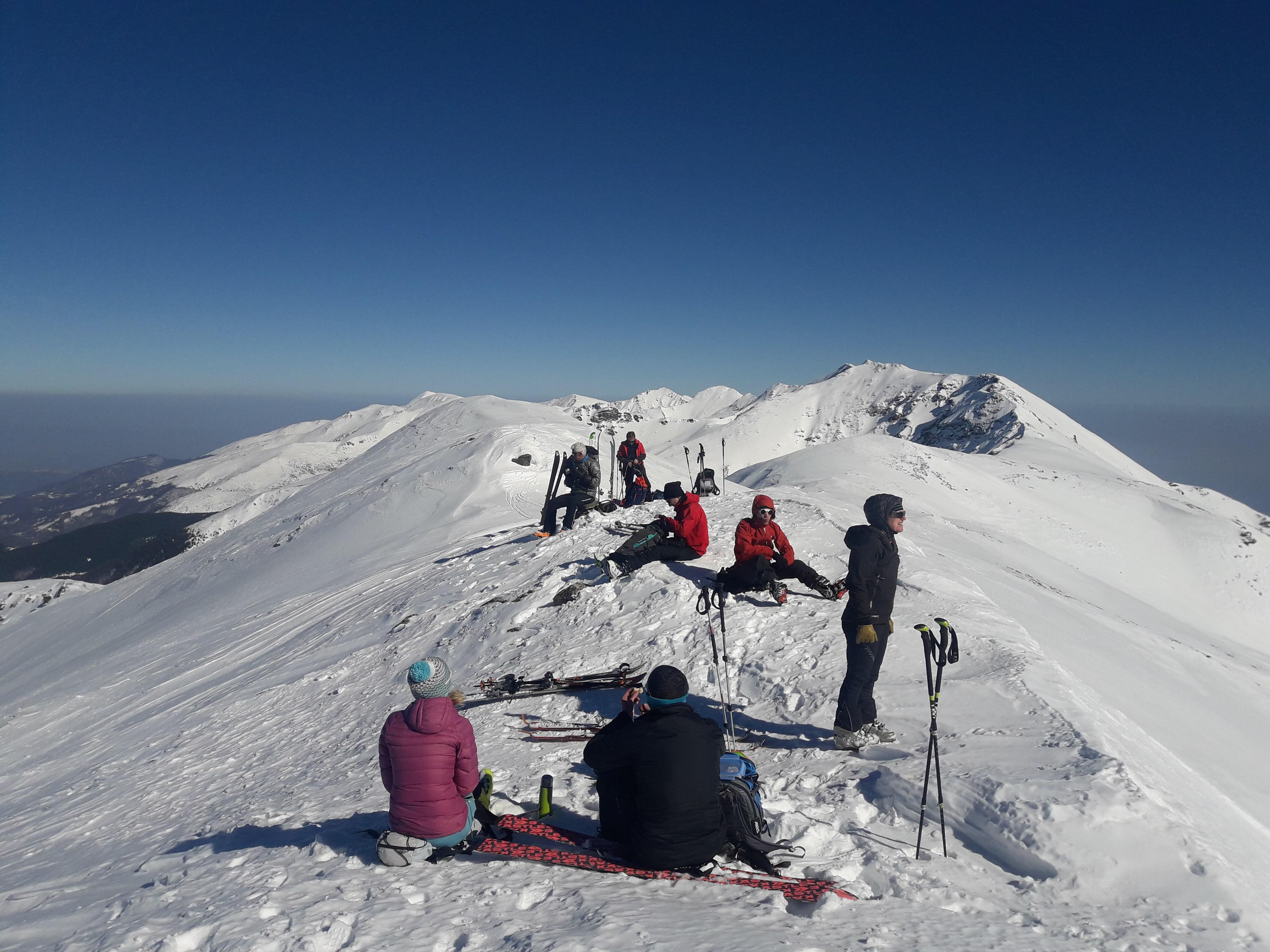 Ski sport in the Balkans