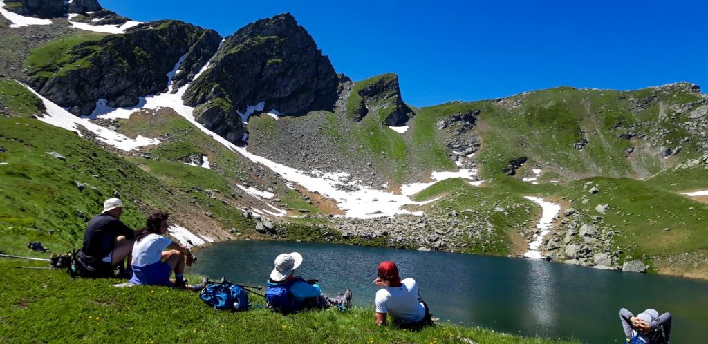 Gjeravica lakes