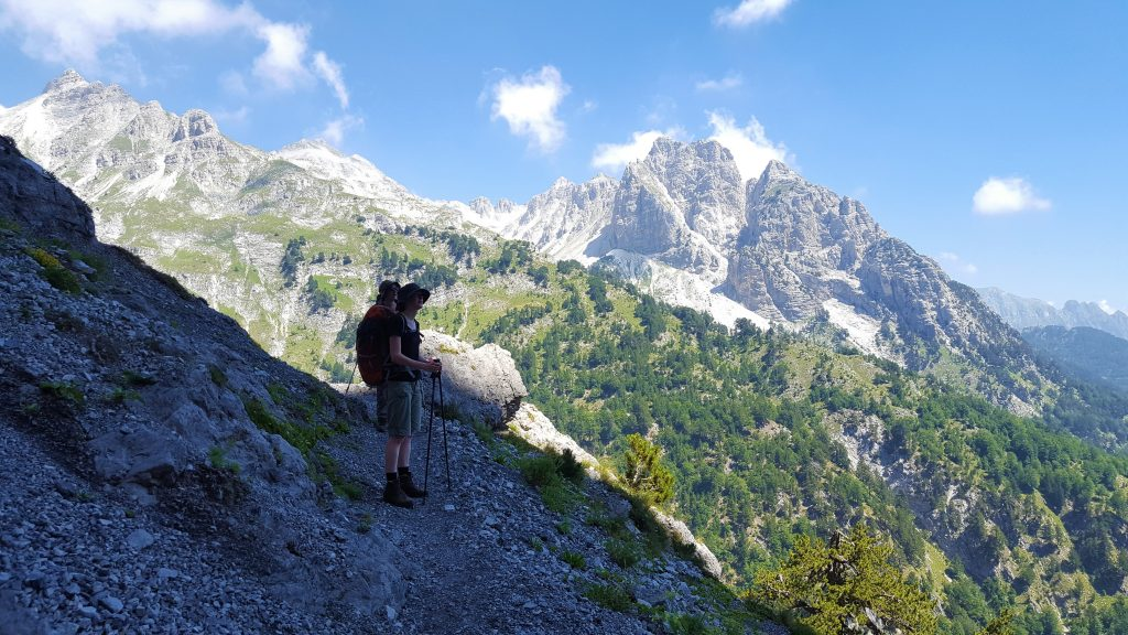 Trail Valbone To Theth; Peaks of the Balkans